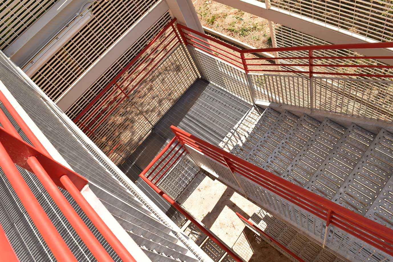 scale industriali - carpenteria metallica