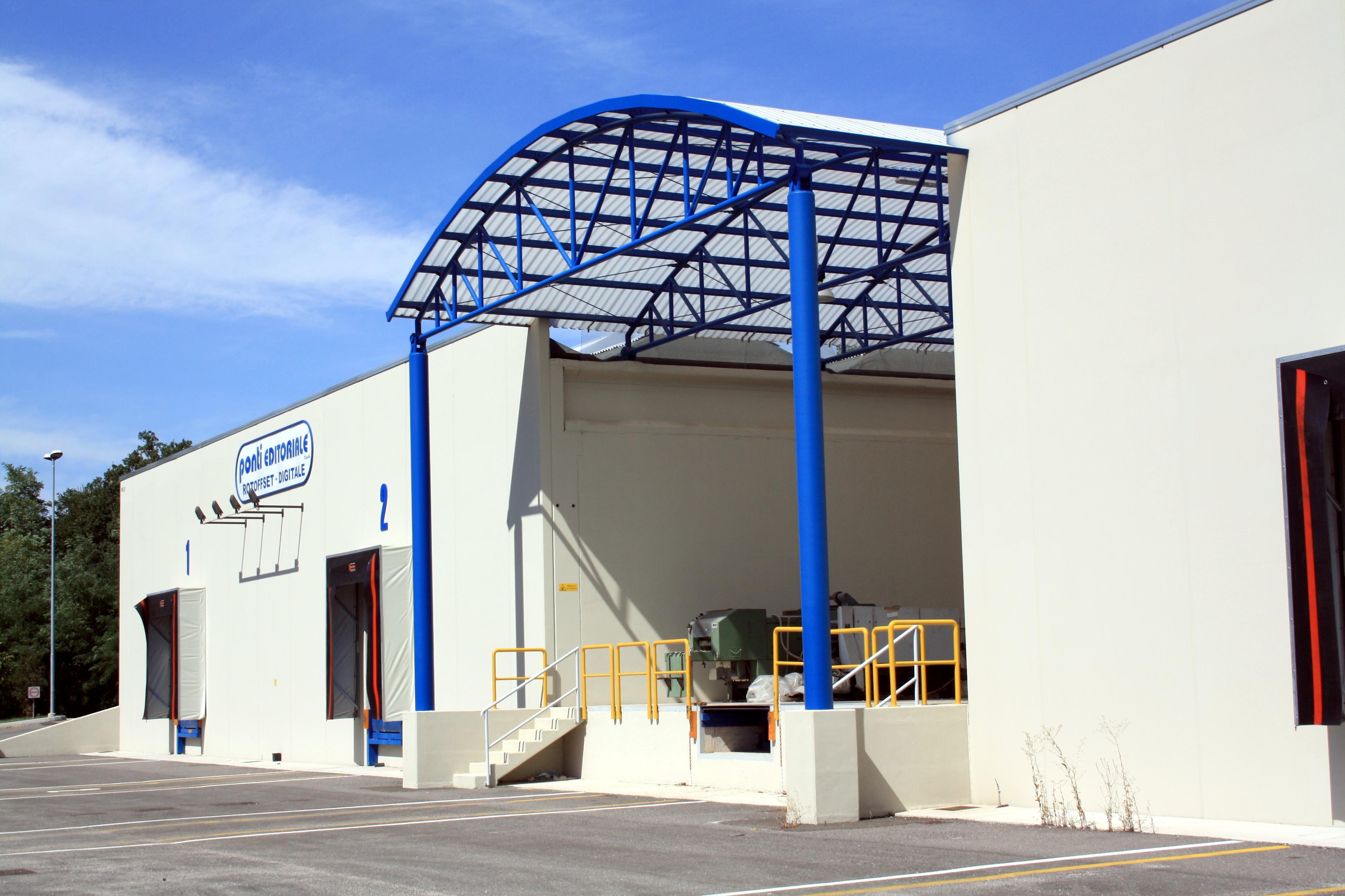 Carpenteria industriale - ICM