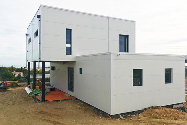 ICM Infissi, villa unifamiliare costa azzurra